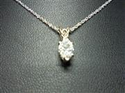 Diamond Necklace .52 CT. 14K White Gold 1.35dwt